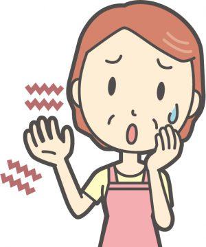 頚椎症による手のしびれ