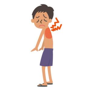 背中の痛み(肩甲骨付近)